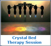 Crystal Bed Therapy Session with Kathy South